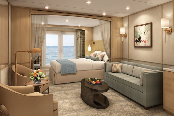Windstar refurbishment - Star Balcony Suite