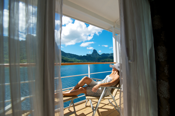 Paul Gauguin, one of our favourite luxury cruise lines
