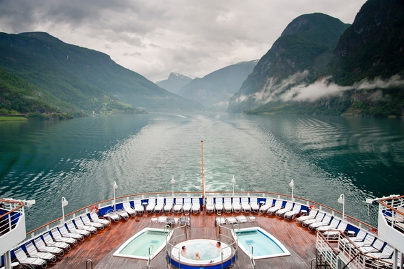 Specialist cruise line Fred Olsen in Norway
