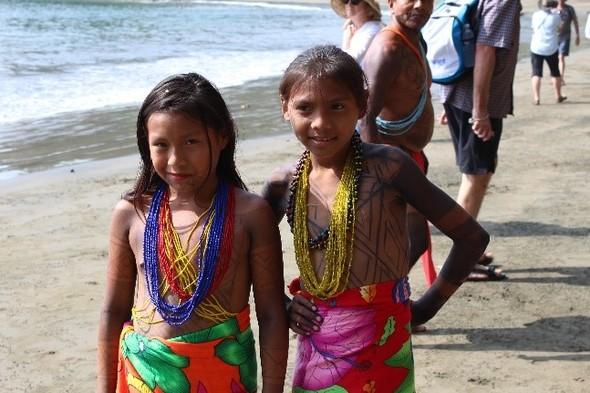 Embera children in Panama