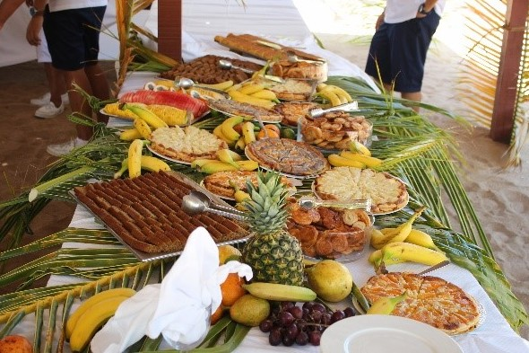 Beach barbecue in Mayreau, St Vincent & The Grenadines
