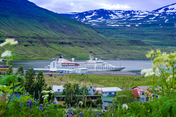 Windstar's Star Legend in Iceland