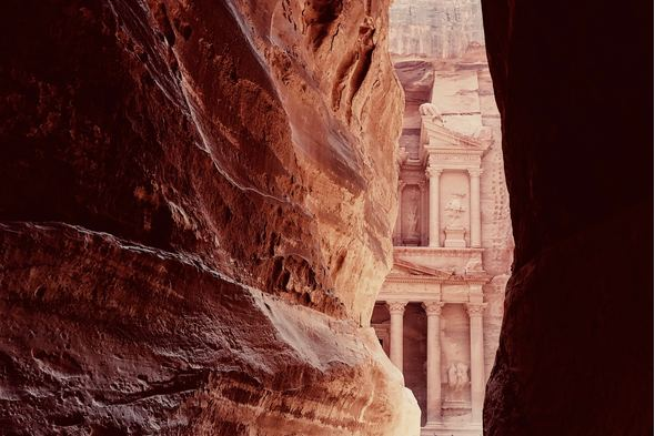 Petra, Jordan, a highlight of a Holy Land cruise