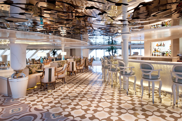 Crystal Symphony - Palm Court Bar