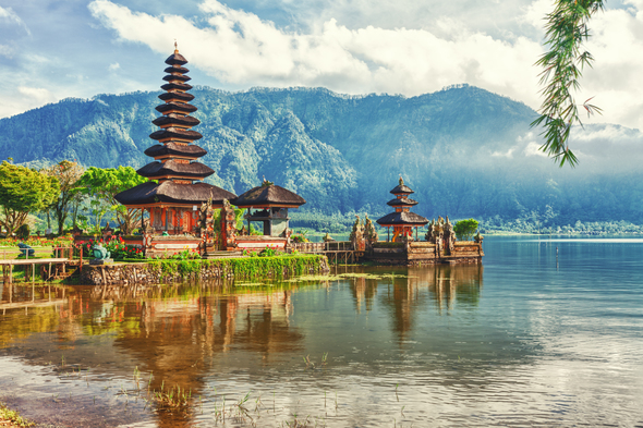 Best small ship cruises to Indonesia - Bali temples