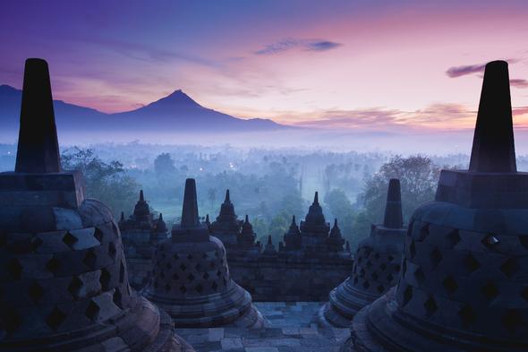 Borobudur temples, Indonesia