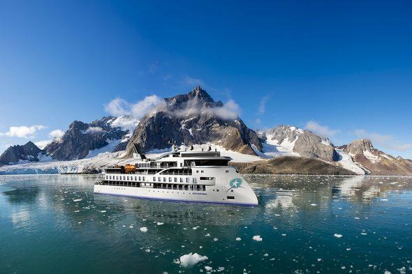 Aurora Expeditions - Greg Mortimer in Antarctica