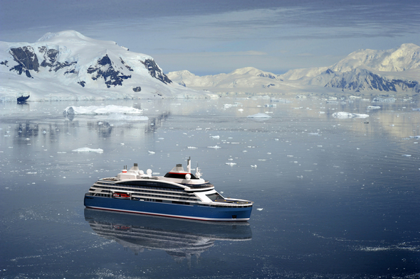 Le Commandant Charcot, Ponant's hybrid-powered luxury icebreaker