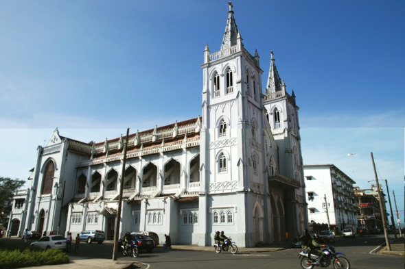 Colón cathedral, Panama