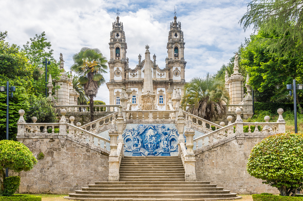 Nossa Senhora de Remedios in Lamego, Portugal