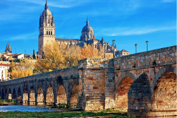 Salamanca cathedral, Spain