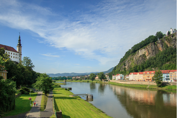 Decin castle, Czech Republic