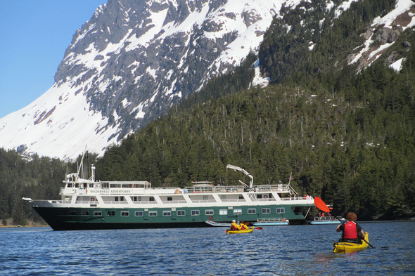 UnCruise Adventures - Wilderness Adventurer in Alaska