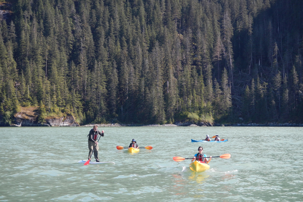 UnCruise Adventures - Stand-up paddleboarding and kayaking in Alaska