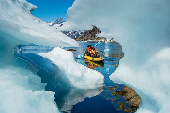 Lindblad Expeditions - Kayaking in Greenland