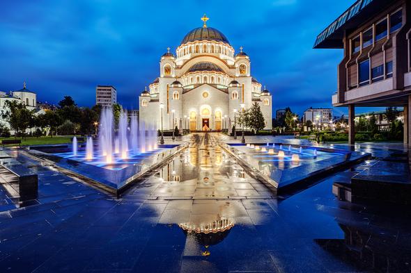 St Sava cathedral, Belgrade