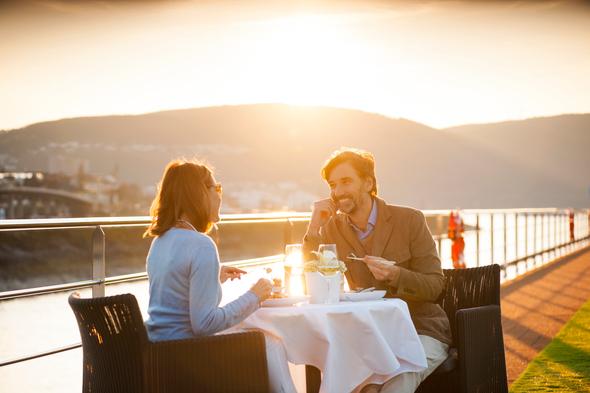 Scenic River Cruising - Sun deck