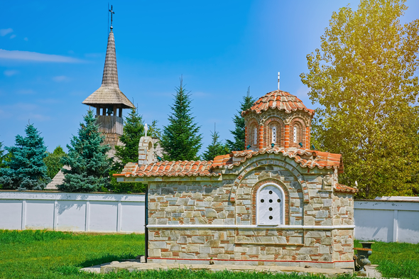 Monastery in Giurgiu, Romania