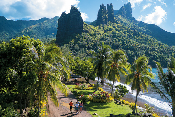 Paul Gauguin Cruises - Nuku Hiva, Marquesas islands