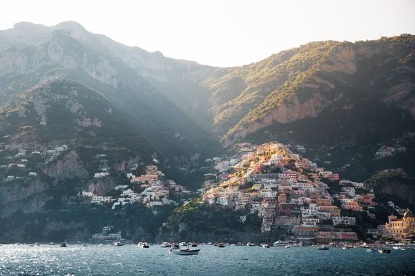 Summer cruises visiting destinations including Positano
