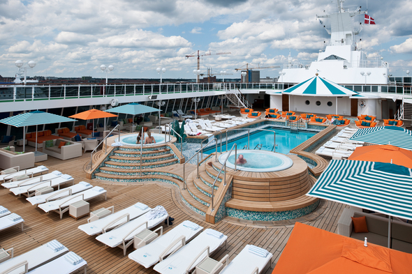 Crystal Serenity, the perfect ship for a cruise celebrating a birthday with friends