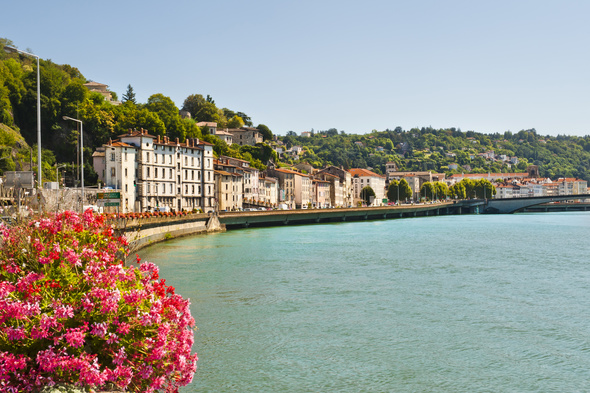 Rhone & Saone river cruises - Vienne, France