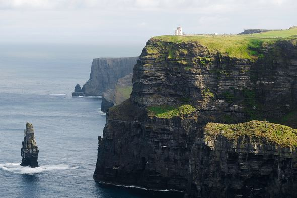 The Cliffs of Moher, featured on some of the best small ship cruises to Ireland