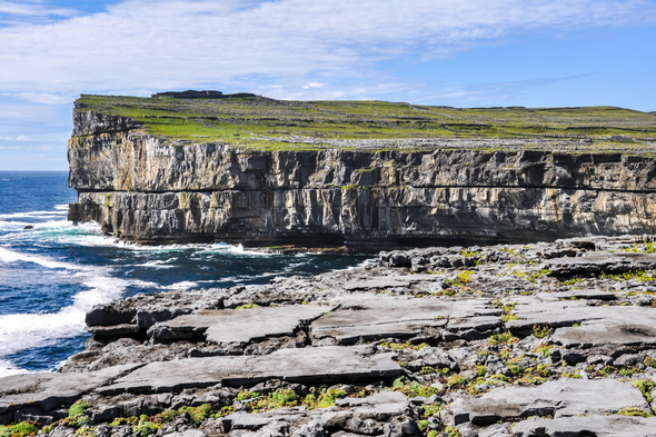 Cliffs of Inishmore, Aran Islands, Ireland