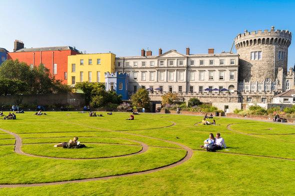 Dublin Castle Gardens, Ireland