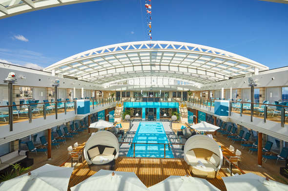 Hapag-Lloyd's MS Europa 2 - Read our cruise ship review to find out more