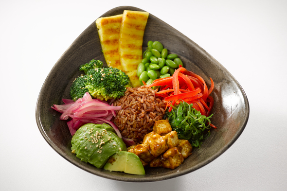 Oceania Cruises plant-based cuisine - Hawaiian poke bowl
