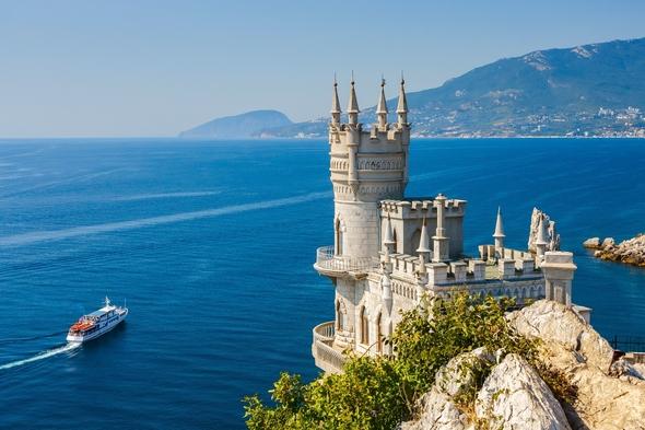 Swallow's Nest Castle in Yalta, Crimea