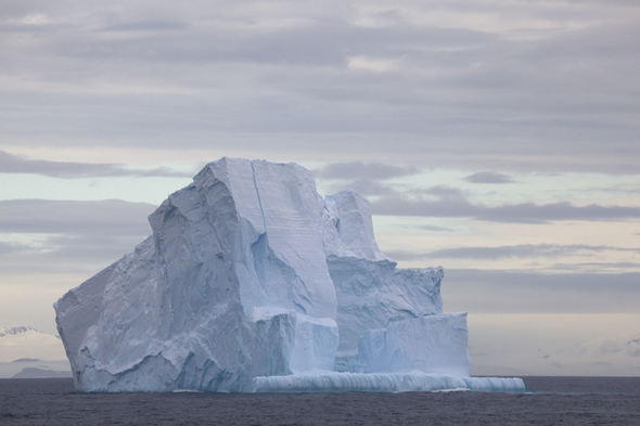 Iceberg in the Drake Passage, Antarctica