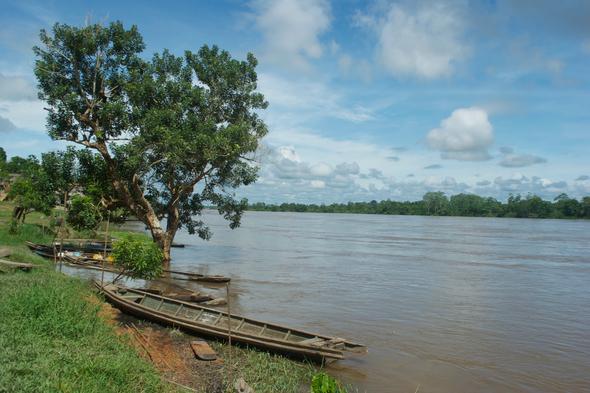 Nauta river in Loreto, Peru