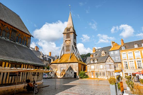 St Catherine's church, Honfleur, France