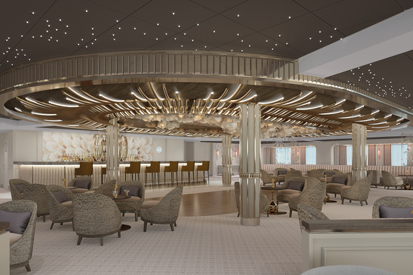 Regent Seven Seas Splendor - Observation Lounge