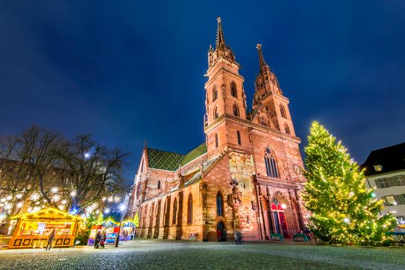 Christmas markets in Basel, Switzerland