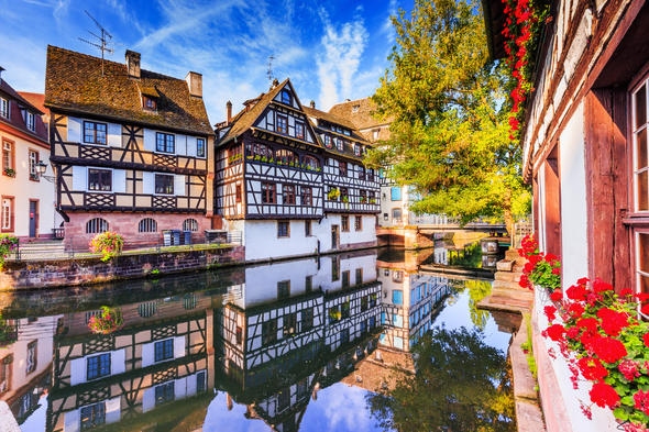 Half-timbered houses in Petite France, Strasbourg