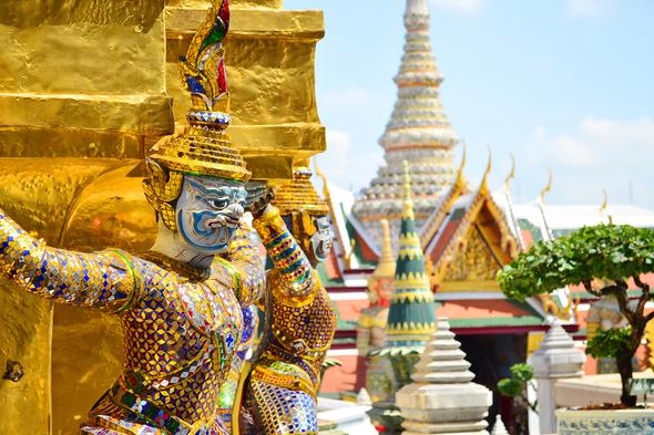 Wat Pra Keaw, Bangkok, Thailand