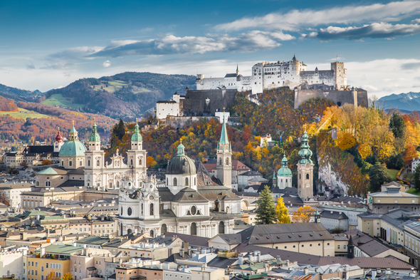Salzburg, Austria, one of the highlights of a Danube cruise