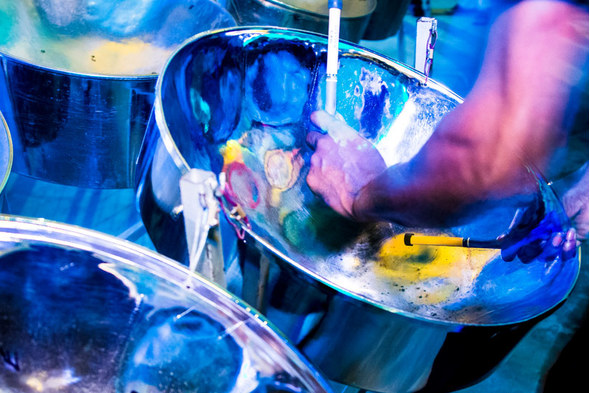 Steelpan music in Trinidad & Tobago