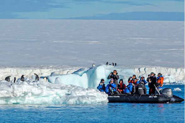 Scenic Eclipse - Zodiac cruise in Antarctica