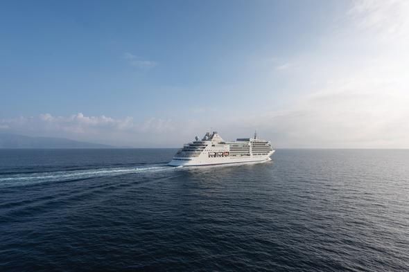 Silver Muse at sea