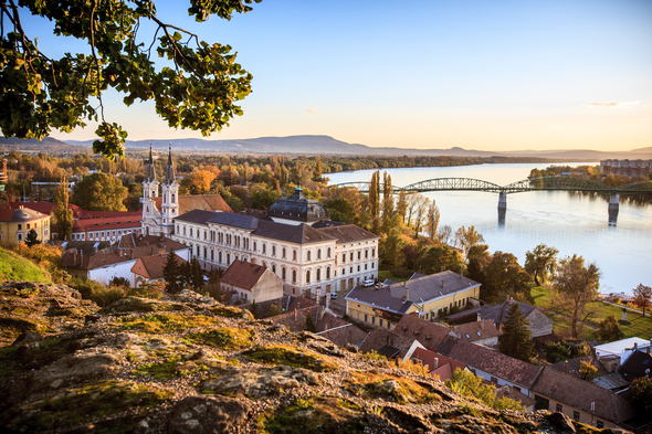 Old town of Esztergom, Hungary
