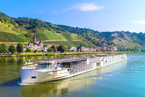 Crystal River Cruises - Crystal Mahler on the Moselle