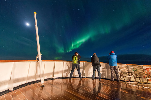 Northern Lights cruise on Hurtigruten
