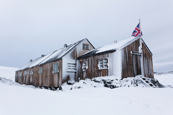 British research station in Antarctica