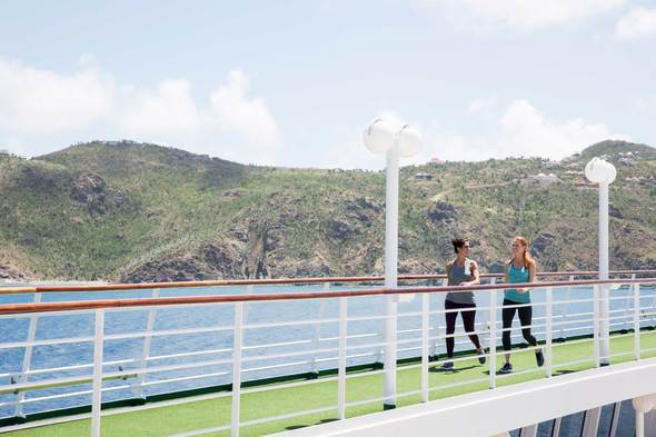Crystal Cruises - Fitness Garden