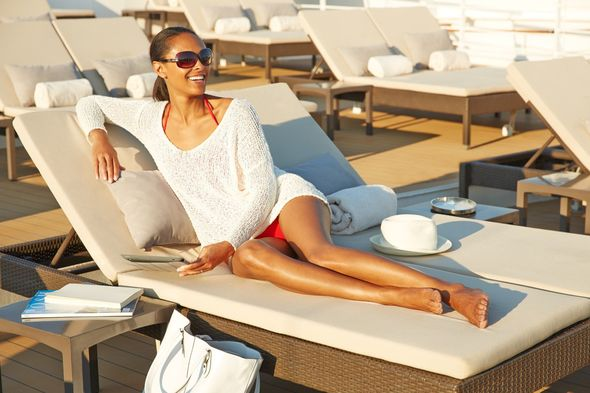 Solo cruise traveller on Seabourn