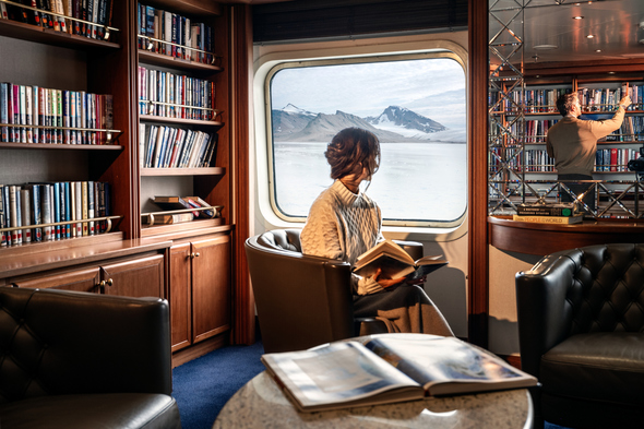 Solo traveller on board Silversea's Silver Cloud